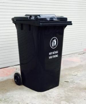 Bán thùng đựng rác thải y tế dung tích 240 lit - giao hàng toàn quốc