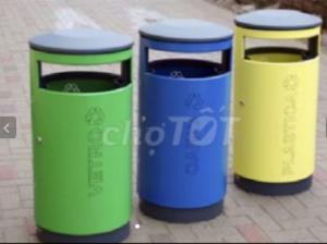 Thùng rác inox & sắt sơn tĩnh điện tiện lợi