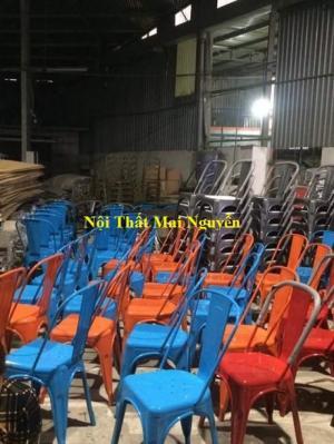 thanh lý 50 ghế tolix giá rẻ