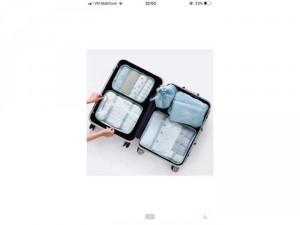 set 6 túi đựng đồ trong vali du lịch