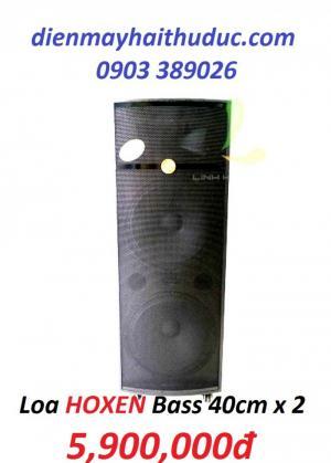 Loa kéo 2 bass 40cm Hoxen L60H giá rẻ nhất 5900K/ bộ