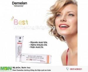 Kem Demelan dưỡng trắng da hiệu quả an toàn