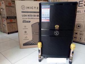 Loa kéo Mictzon MZ 12-01 tích hợp sẵn 20 ngàn bài Karaoke