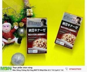 Viên Uống Chống Đột Quỵ NATTO Nhật Bản