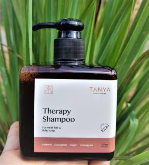 2019-08-21 17:16:44  3 DẦU GỘI THẢO DƯỢC TANYA cho tóc yếu, rụng tóc và nấm da đầu. DẦU GỘI THẢO DƯỢC TANYA 153,000
