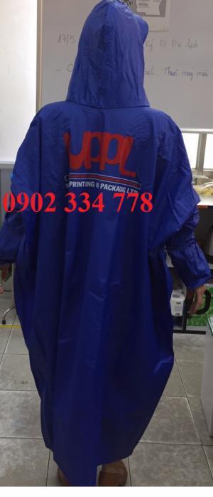 -Áo mưa quảng cáo (in logo màu theo yêu cầu)