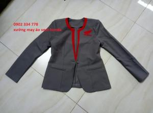 áo vest honda nữ mẫu mới 2019