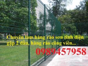 Sản xuất hàng rào sân bóng đá mini, hàng rào sân tennis tại Hà Nội