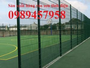 Chuyên lưới thép hàng rào bảo vệ khu công nghiệp, hàng rào biệt thự, hàng rào sân bóng đá, sân tennis