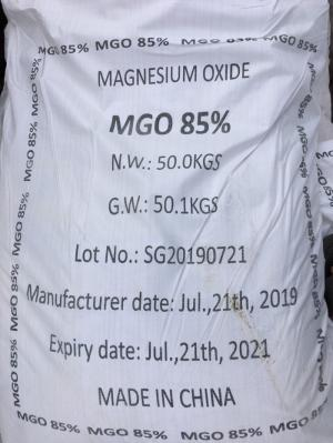 MAGNESIUM OXIDE MgO 85%