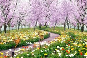 GẠCH 3D ỐP TƯỜNG PHONG THỦY ĐẸP HDP78