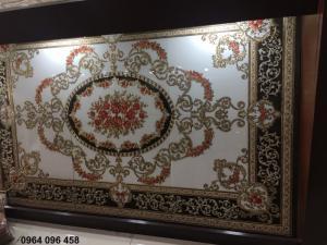 Gạch thảm trang trí phòng khách cao cấp