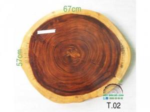 mặt bàn gỗ tròn T-02!