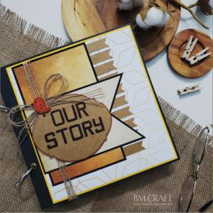 Scrapbook handmade - quà tặng album dán ảnh handmade