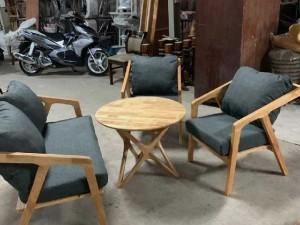 Bộ bàn ghế sofa cafe