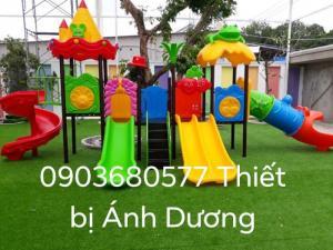 Bộ liên hoàn cầu trượt dành cho trẻ em