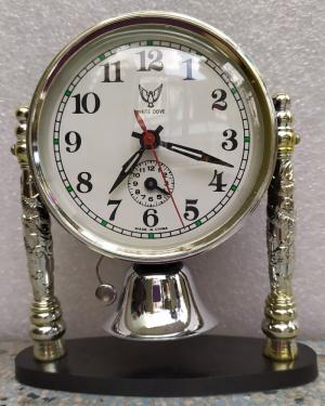 đồng hồ chuông dưới màu trắng