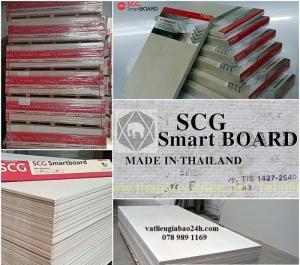 Tấm xi măng nhẹ Thái Lan-Vật liệu chuyên dụng sàn,vách,trần