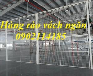 Chuyên cung cấp vách lưới ngăn kho,hàng rào ngăn kho