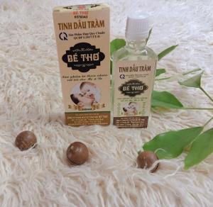 [Dầu tràm cho bé] Dầu tràm bé thơ nguyên chất loại 50ml sản phẩm được các mẹ bỉm sữa lựa chọn chọn