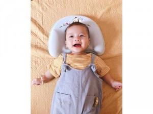 Gối cao su non chống méo bẹp đầu cho bé sơ sinh