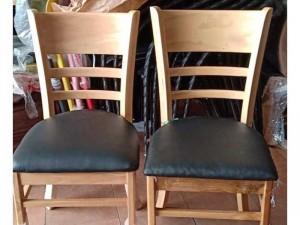 Ghế gỗ cafe bọc nệm giá rẻ