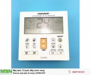 Remote máy lạnh đa năng CHUNGHOP K-650E chính hãng