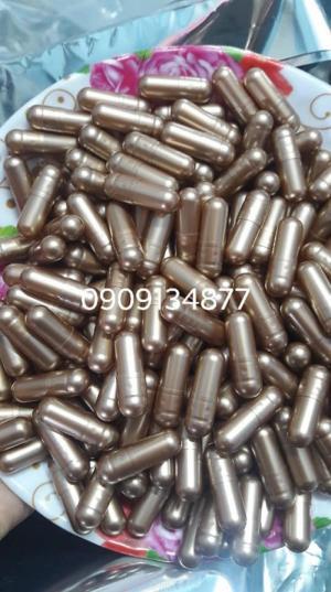 1000 vỏ nang con nhộng rỗng, viên con nhộng trong suốt, viên nang xanh lá, vỏ nang rỗng, vỏ nang cứng