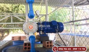 Bán máy bơm màng chạy điện nhập khẩu chính hãng giá rẻ