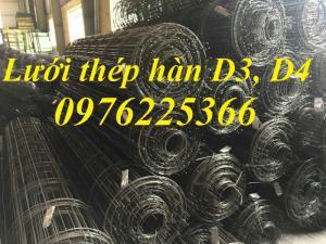 Lưới thép hàn dạng cuộn, lưới thép hàn đổ bê tông, lưới D4