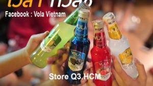 Vola nước trái cây lên men có cồn nhập khẩu Thailand