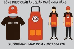 Mẫu Đồng Phục Quán Cafe 2020 ĐẸP