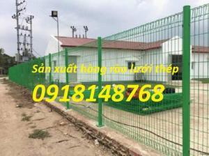 sản xuất hàng rào mạ kẽm, hàng rào sơn tĩnh điện giá tốt