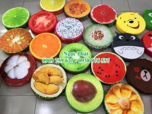 Đệm ngồi trái cây, đệm ngồi bệt hoa quả, đệm...