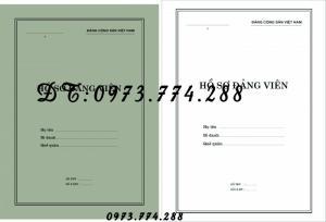 2019-09-17 11:34:57  28  In vỏ, túi đựng hồ sơ đảng viên ở Hà Nội 10,000