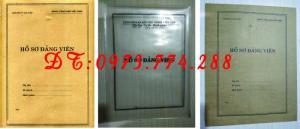 2019-09-17 11:34:57  24  In vỏ, túi đựng hồ sơ đảng viên ở Hà Nội 10,000