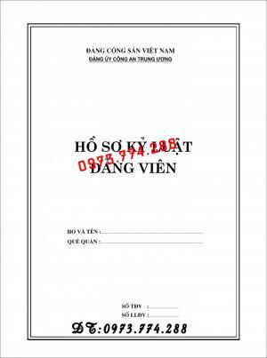 2019-09-17 11:34:57  21  In vỏ, túi đựng hồ sơ đảng viên ở Hà Nội 10,000