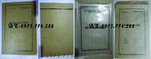 2019-09-17 11:34:57  20  In vỏ, túi đựng hồ sơ đảng viên ở Hà Nội 10,000
