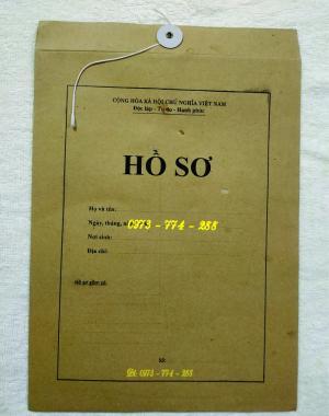 2019-09-17 11:34:57  18  In vỏ, túi đựng hồ sơ đảng viên ở Hà Nội 10,000