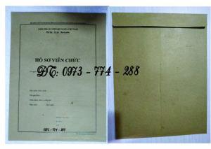 2019-09-17 11:34:57  11  In vỏ, túi đựng hồ sơ đảng viên ở Hà Nội 10,000
