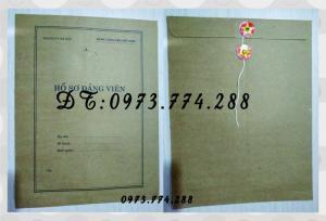 2019-09-17 11:58:39  21  In bìa hồ sơ đảng viên 10,000
