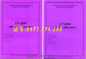 2019-09-17 14:52:30  1  Sổ lý lịch cán bộ công chức mẫu mới nhất 10,000