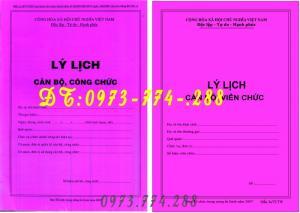 2019-09-17 16:59:48  4  Lý lịch cán bộ công chức viên chức mẫu 2a, 1a các mẫu .... 10,000