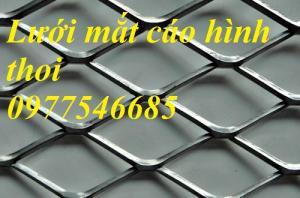 Sản xuất lưới thép hình thoi, lưới kéo giãn ,lưới dập giãn ,lưới quả trám