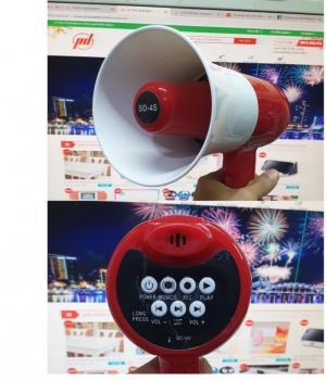 Loa phóng thanh cầm tay SD 4S ghi âm lặp lại đến 240 giây