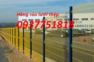 Sản xuất lưới thép hàn mạ kẽm, lưới hàng rào mạ kẽm, lưới hàng rào sơn tĩnh điện