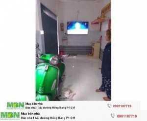 Bán nhà 1 lầu đường Hồng Bàng P1 Q11