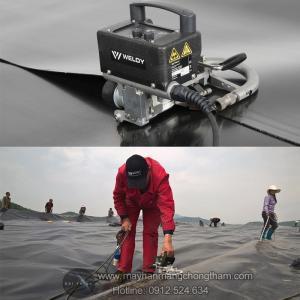 Máy hàn màng nhựa PVC/EVA/HDPE/ dày 0.3-1.0mm chất lượng, giá tốt.