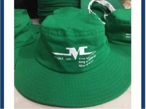 Mũ tai bèo màu két in logo giá cực rẽ