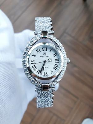 Đồng hồ nữ Royal Crown 4110 sliver